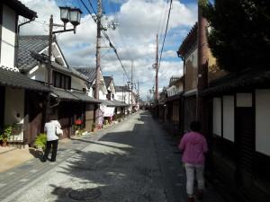 丹波篠山市内を散策