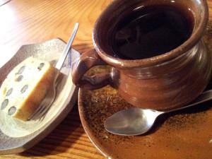 黒豆コーヒーで一服